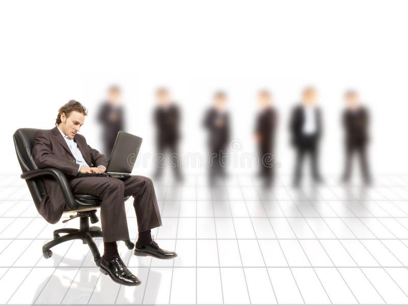 企业透视图 库存照片