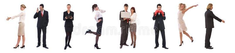 企业配合 库存照片