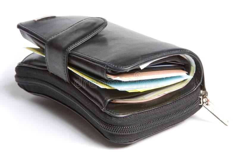 企业钱包 库存图片