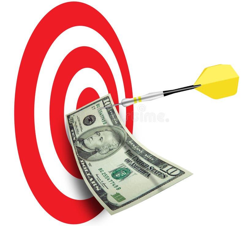 企业销售计划销售额 免版税库存照片