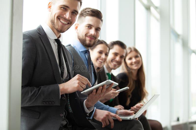 企业队办公室工作者企业家概念 创造性的人民 免版税库存图片
