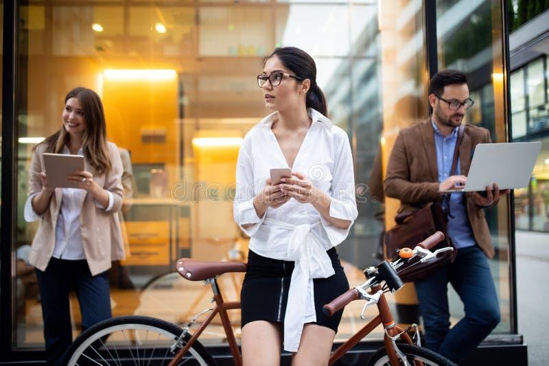 企业队数字设备技术连接的概念 免版税图库摄影