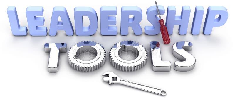企业领导管理工具 库存例证