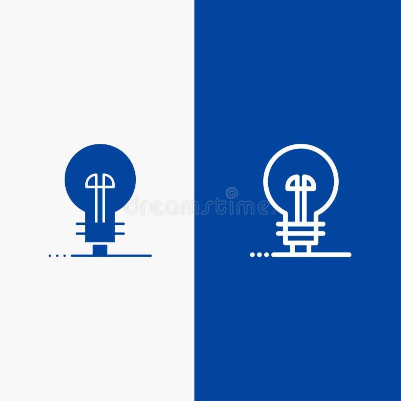 企业,定义,管理、产品系列和纵的沟纹坚实象蓝色旗和纵的沟纹坚实象蓝色横幅 向量例证