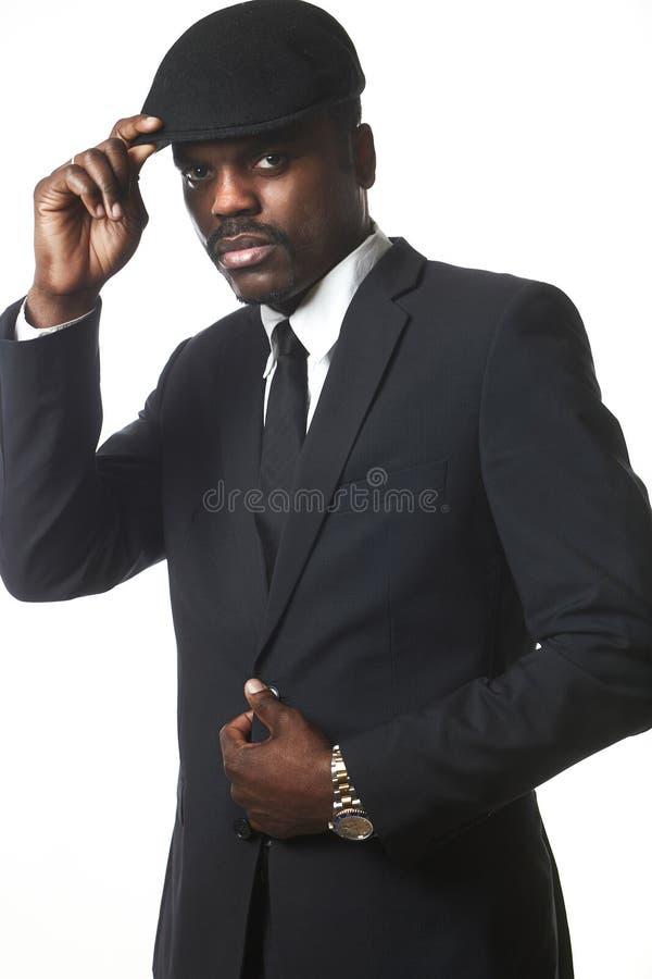 企业黑人 免版税图库摄影