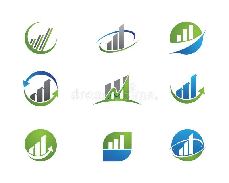 企业财务商标 库存例证
