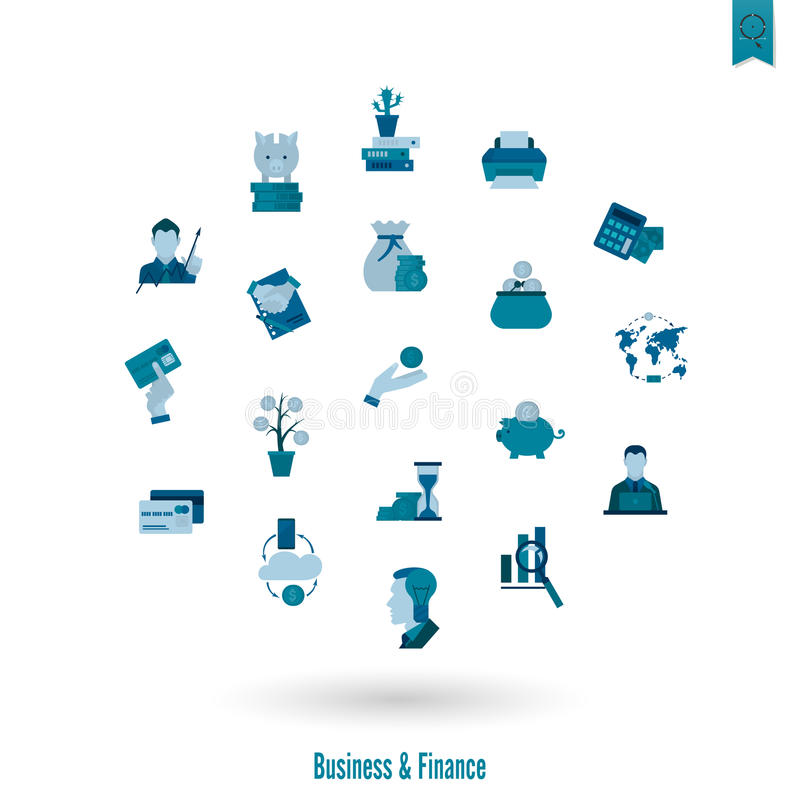 Download 企业财务图标集 向量例证. 插画 包括有 商务, 设计, 管理, 借项, 财务, 协议, 采购, 看板卡 - 59107631
