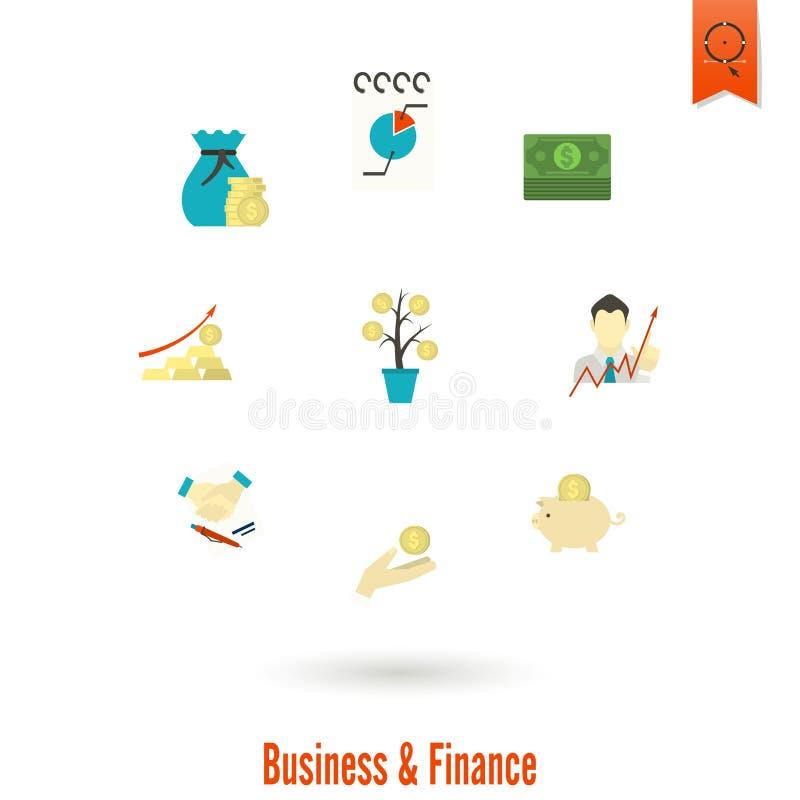 Download 企业财务图标集 向量例证. 插画 包括有 概念, 现金, 横幅提供资金的, 例证, 想法, 设计, 图标 - 59108343