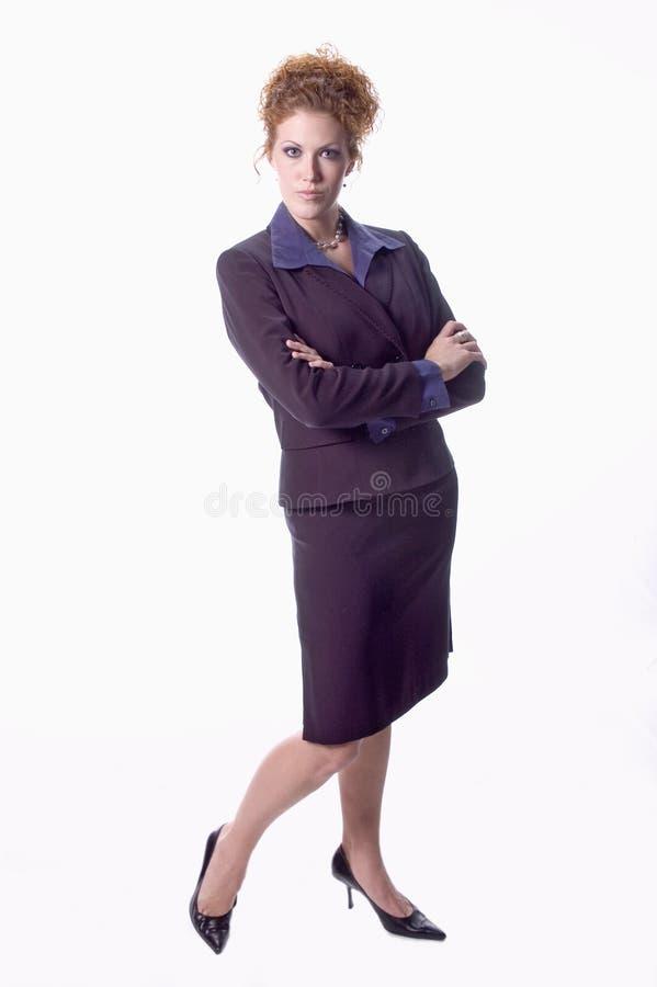 企业exec妇女 免版税图库摄影