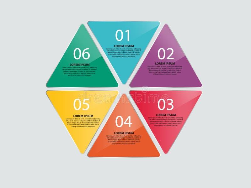 企业Infographics传染媒介例证 免版税库存照片