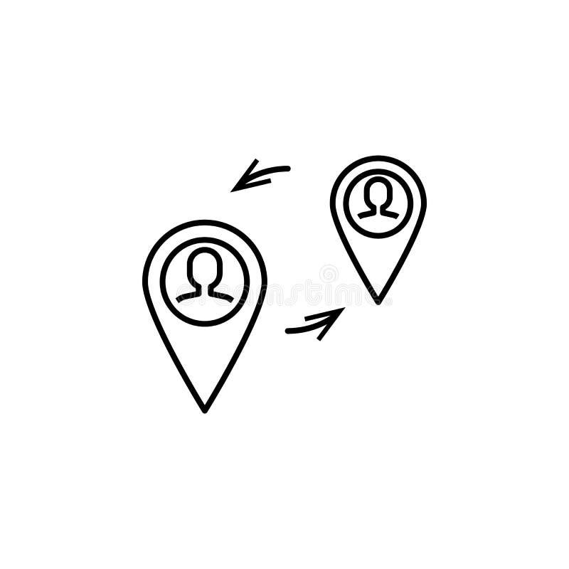 企业seo,通信线路象 在想法的配合 E 库存例证