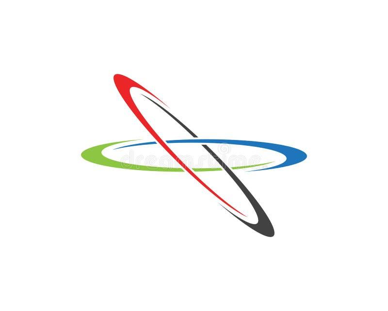 企业techno商标模板 皇族释放例证