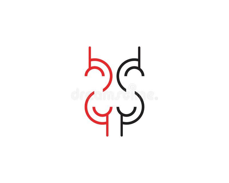 企业techno线商标设计观念 库存例证