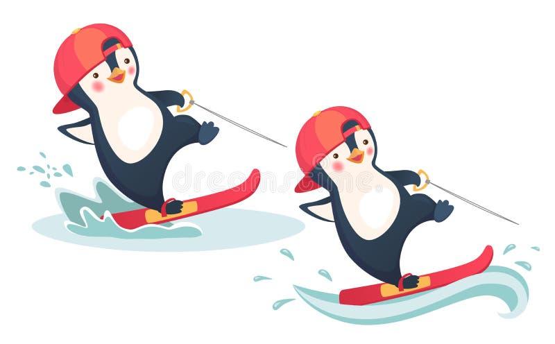 免媒介downloadcomp例证活动竞赛水上运动和滑水传染企鹅拳击生死版税演员表图片