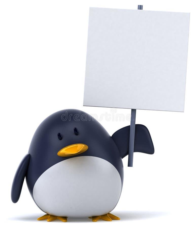 企鹅 皇族释放例证