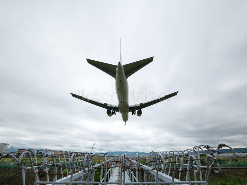伊丹机场在日本 图库摄影