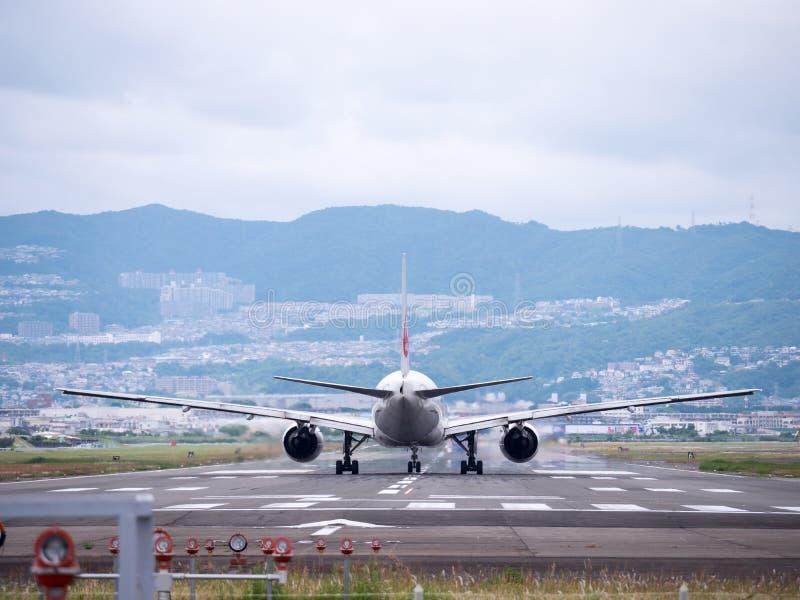 伊丹机场在日本 库存照片