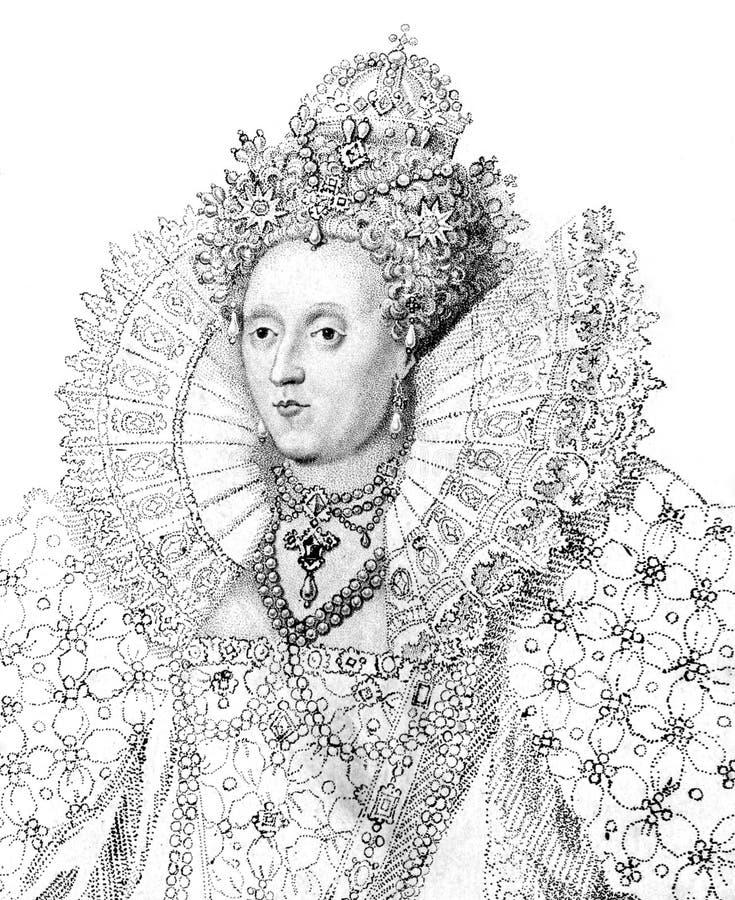 伊丽莎白一世 图库摄影