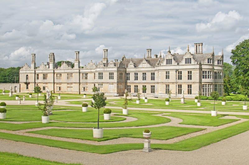 伊丽莎白女王的房子庄园 免版税库存图片