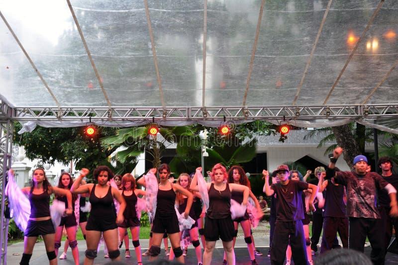 巴伊亚舞蹈节日 库存图片
