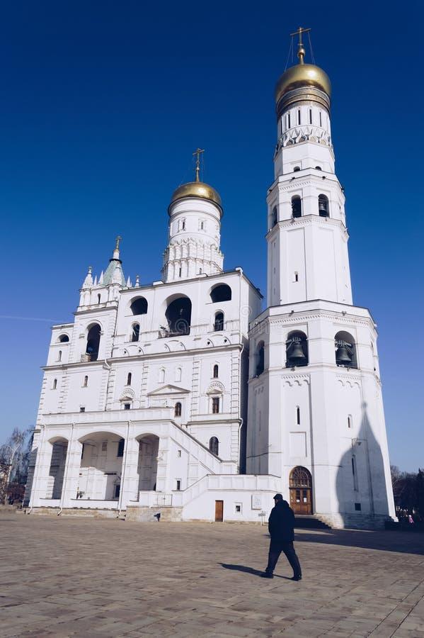 伊冯巨大钟楼复合体 库存照片