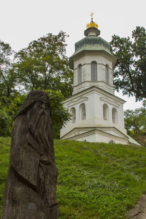 伊利因斯基火山教会在切尔尼戈夫 乌克兰 图库摄影