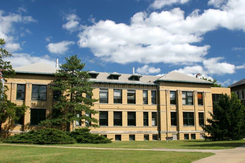 伊利诺伊南部的大学 库存照片