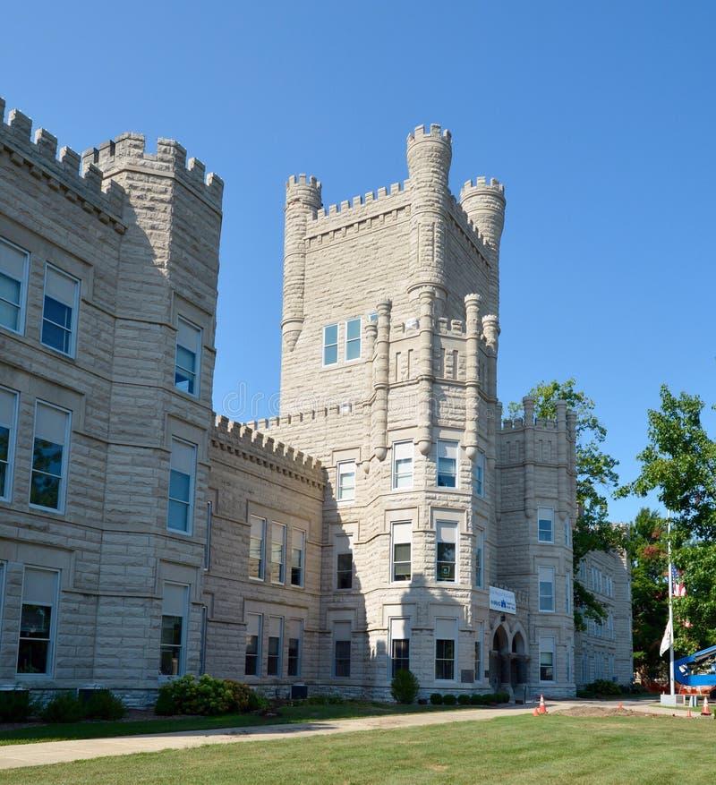伊利诺伊城堡 库存照片