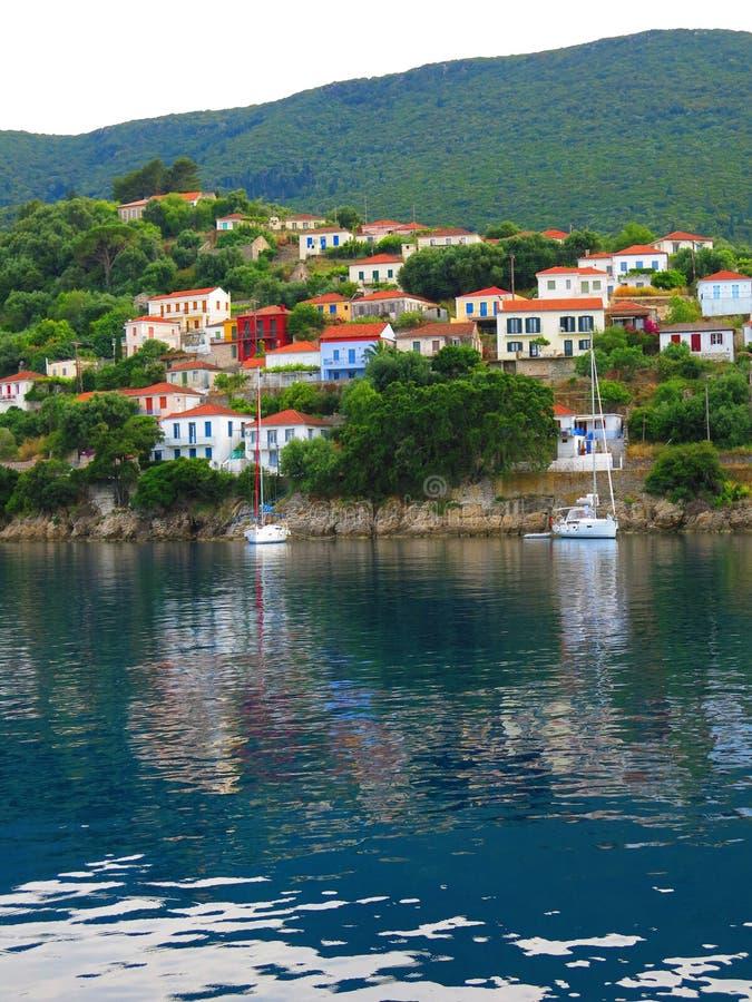 伊塔卡,希腊 免版税库存图片