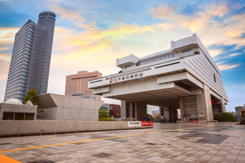 伊多东京博物馆在东京,日本 库存图片