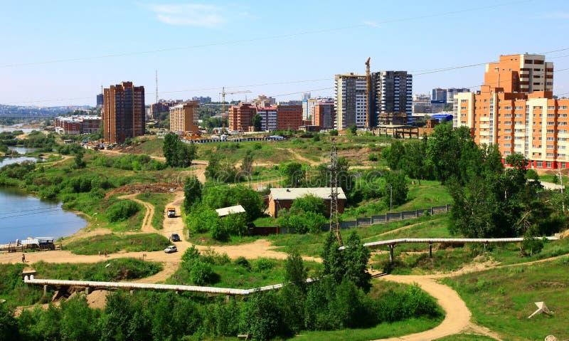 伊尔库次克俄国 免版税库存图片