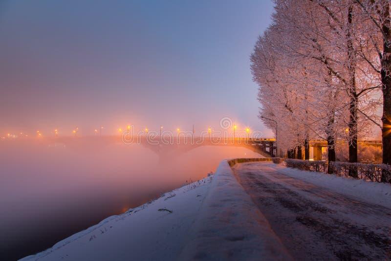 伊尔库次克冬天散步 库存照片