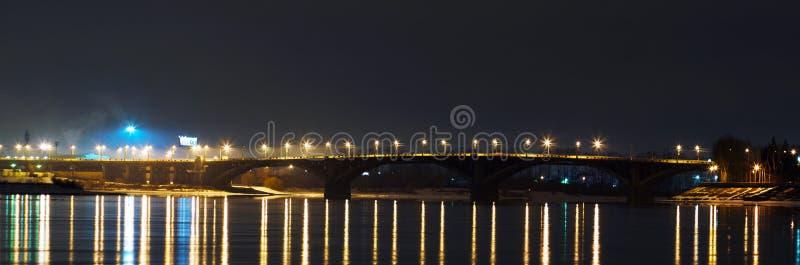 伊尔库次克桥梁  库存图片