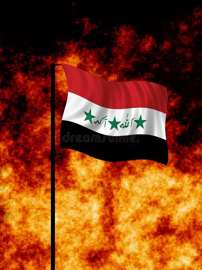 伊拉克战争 向量例证