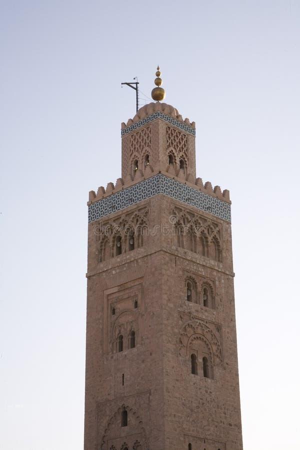 伊斯兰尖塔清真寺 图库摄影
