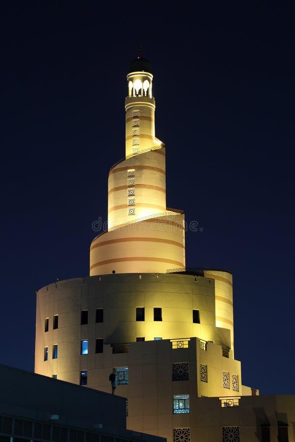 伊斯兰教的中心Fanar在多哈,卡塔尔 库存照片