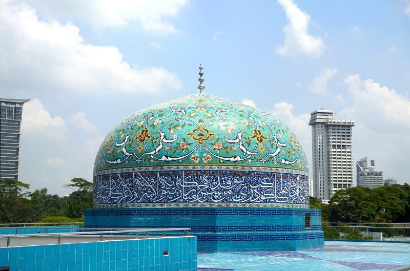 伊斯兰教的博物馆,吉隆坡,马来西亚 库存图片