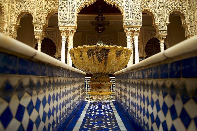 伊斯兰教的庭院 库存图片