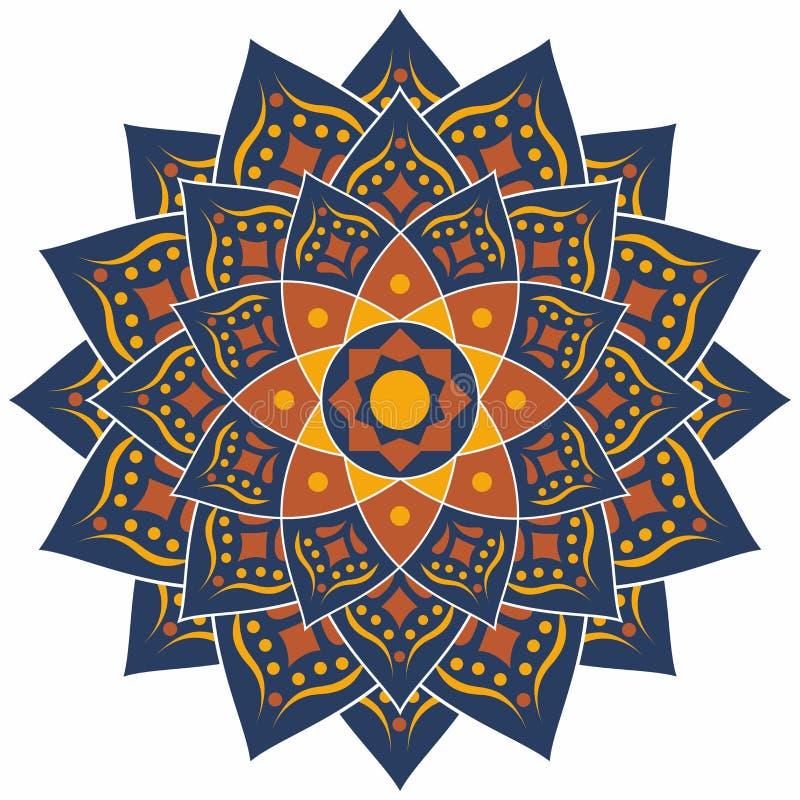 伊斯兰教的样式,传统样式 向量例证
