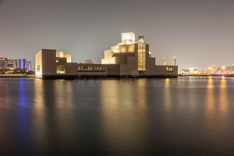 伊斯兰教的艺术博物馆在多哈,卡塔尔 图库摄影