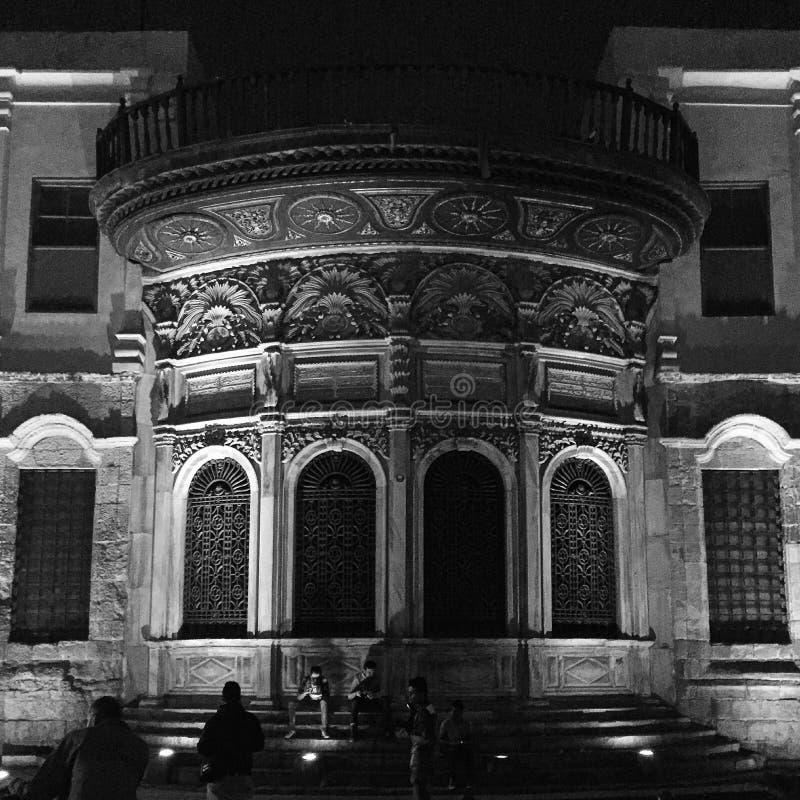 伊斯兰教的建筑学埃及 免版税库存照片