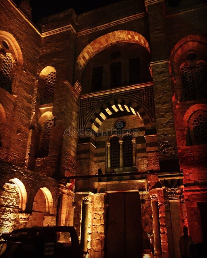 伊斯兰教的建筑学埃及 库存照片