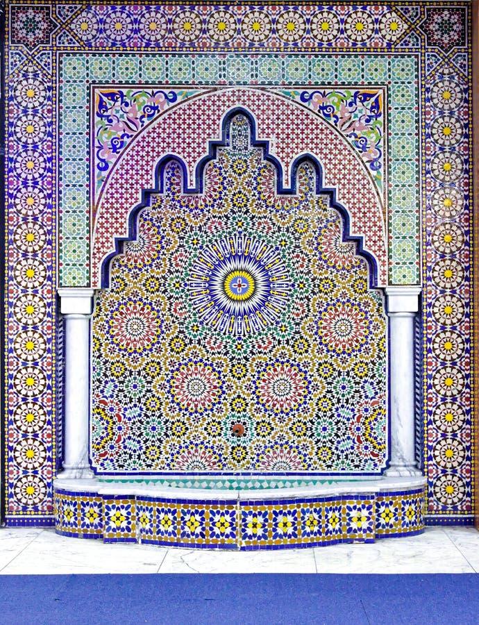 伊斯兰祈祷 库存图片