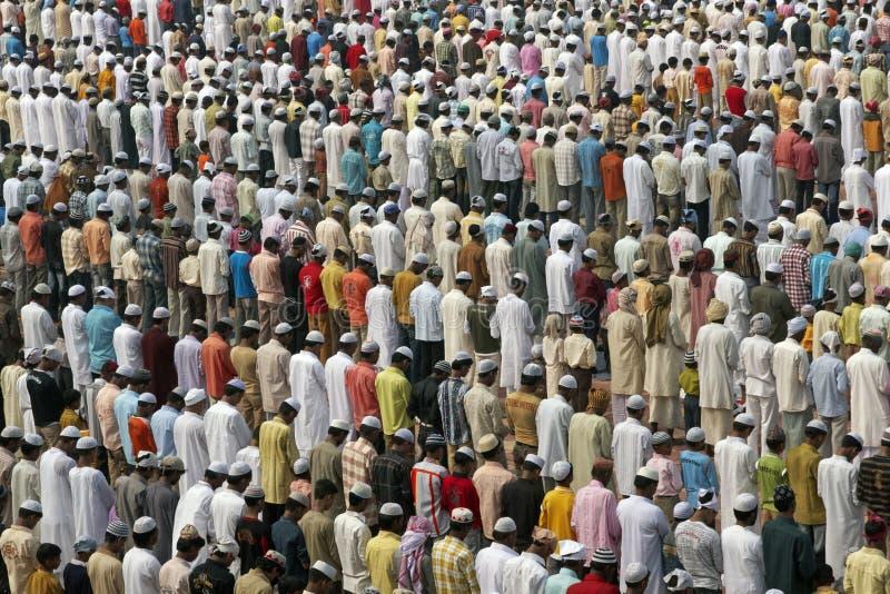 伊斯兰祷告 免版税库存照片