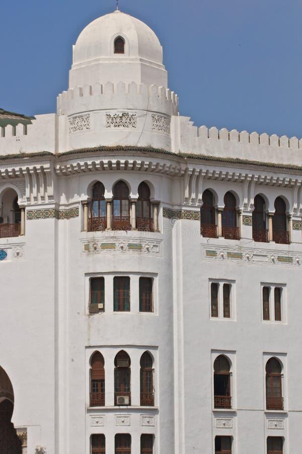 伊斯兰结构在阿尔及尔 库存照片