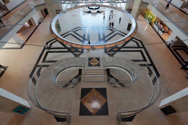 伊斯兰艺术博物馆在多哈 免版税库存照片