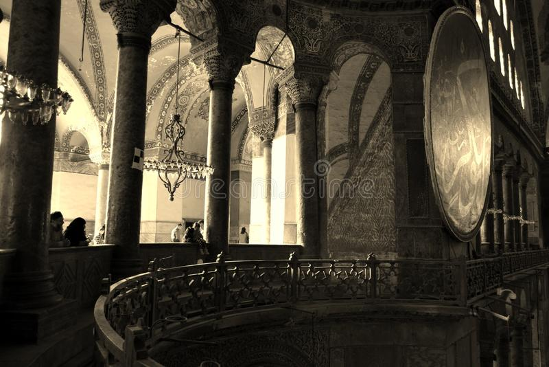 伊斯坦布尔圣索非亚大教堂 库存图片