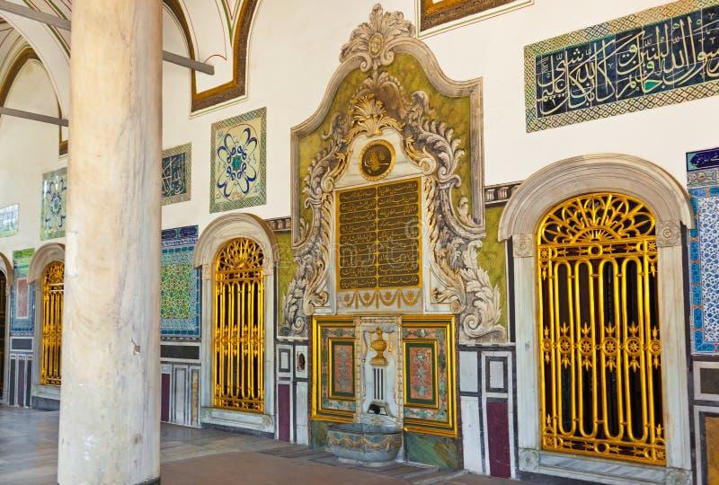 伊斯坦布尔宫殿topkapi火鸡 库存图片