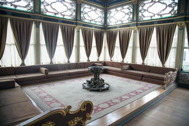 伊斯坦布尔宫殿topkapi 库存照片