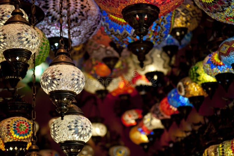 伊斯坦布尔市场 免版税库存图片